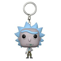 Rick and Morty Anime Keychain (Collection)