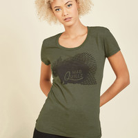 Spike It or Not T-Shirt | Mod Retro Vintage Sweaters | ModCloth.com