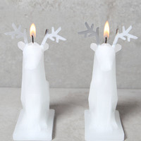 Pyropet Sparks Mini Reindeer Candles, Set of 2 at PacSun.com