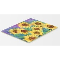 Sunflowers and Purple Kitchen or Bath Mat 20x30 IBD0247CMT