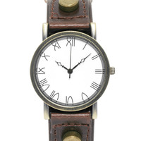 ASOS Watch with Rivet Detail