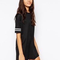 Pieces Hey There Short Sleeve T-Shirt Dress