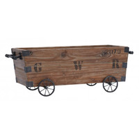 Wood Farmhouse Cart