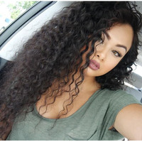 Full Lace Human Hair Wigs 8A Lace Front Wigs Loose Curly Lace Front Human Hair Wigs Glueless Full Lace Wig