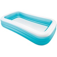 "Intex Swim Center Family Inflatable Pool 120"" x 72"" x 22"""