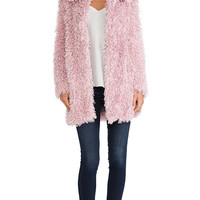 Unreal Fur De-Fur Coat in Pink