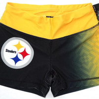 Pittsburgh Steelers Forever Collectibles Women's Boy Shorts Sizes S-XL