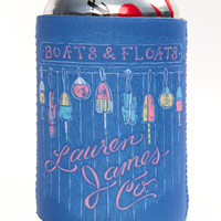Lauren James: Boats & Floats Koozie {Estate Blue}