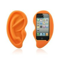 HOTER® Cute Big Ear Apple Iphone 4/4S Case: Sports & Outdoors