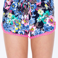 Electric Floral Soft Short