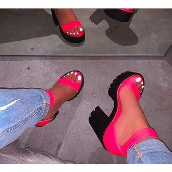 Summer new style high heel fashion women's sandals