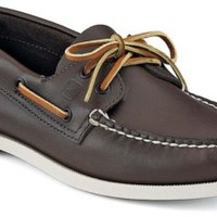 Sperry Top-Sider Authentic Original 2-Eye Boat Shoe ClassicBrownLeather, Size 10S  Men's Shoes