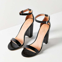 Thin Strap Patent Heel   Urban Outfitters