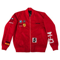 Club Foreign Germany Jacket In Red