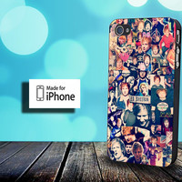 Ed Sheeran Collage - Photo on Hard Cover for iPhone case, Samsung Galaxy case, and iPod case. Coose the option
