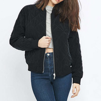 Pins & Needles Quilted Bomber Jacket - Urban Outfitters