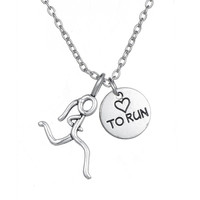 Casual Zinc Alloy Necklaces For Lovers Cha127570
