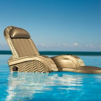 Extra-Large Adjustable Pool Chaise - Bronze - Frontgate