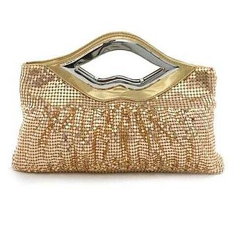Big Lips Banquet Clutch In 4 Shiny And Matt Colors - Style: MATTE