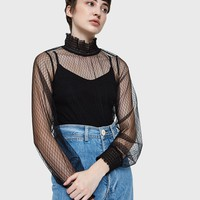 Stelen / Elizabeth Sheer Top