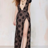 The Jetset Eternal Whispers Embroidered Dress