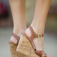 The Way I See It Wedges-Tan