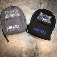 '' KENZO '' Casual Sport Laptop Bag Shoulder School Bag Backpack