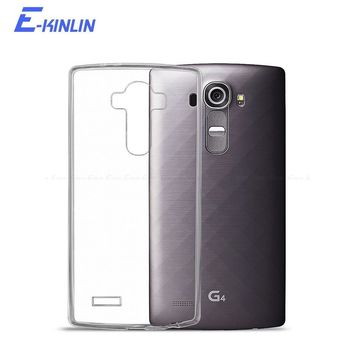 Silicone UltraThin Clear Soft Full Protective Cover For LG Phones