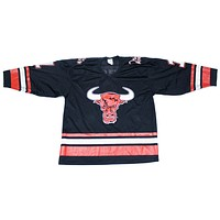 WWF THE ROCK 'PEOPLE's CHAMP' VINTAGE HOCKEY JERSEY M