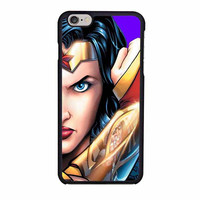 superman and wonder woman face couple right case for iphone 6 6s