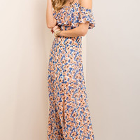 Summer Cottage Maxi Dress - Off White