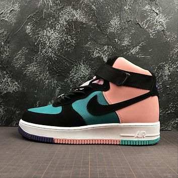Nike Air Force 1 High Have A Nike Day Pink Blue Sport Fashion Shoes