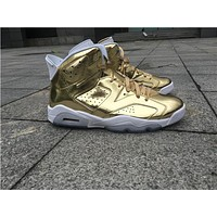 Air Jordan 6 Local tyrants gold Basketball Shoes 41-47