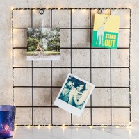 Light Up Photo Clip Grid