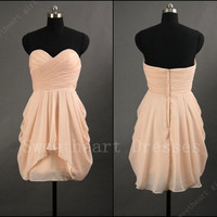 2013 Sexy Cheap Chiffon Short Prom Dresses