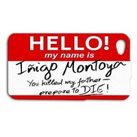 Cute Funny Red Name Tag Case Funny Phone Cover iPhone + iPod