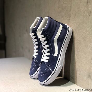 """Vans"" Sk8-Hi Reissue Vance High Top Women Canvas Shoes"