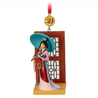 Disney 2018 Mulan Legacy 20th Sketchbook Limited Ornament New with Box