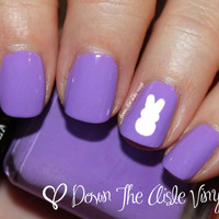 Easter Peeps Nail Decals - Set of 60