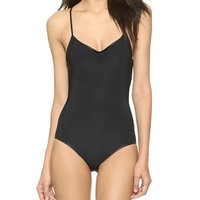 Marc by Marc Jacobs Solid Marc One Piece Swimsuit