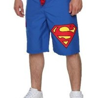 DC Comics Superman Logo Swim Trunks Size : X-Large