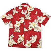 chili hawaiian cotton shirt