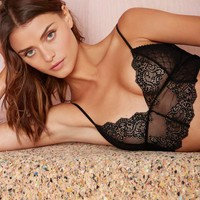 Nasty Gal Midnights Lace Bra