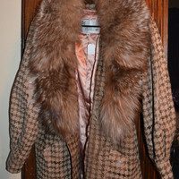 Vintage Fur-lined Coat - PD Furs