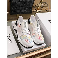 dior fashion men womens casual running sport shoes sneakers slipper sandals high heels shoes 228