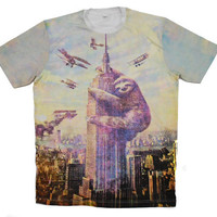 Sloth, Empire State Building, Slothzilla, Men's Tee, Sloth shirt, Available S M L XL 2XL