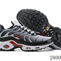 Hcxx 19July 1188 Nike Air Max Plus QS Retro Sports Flyknit Running Shoes