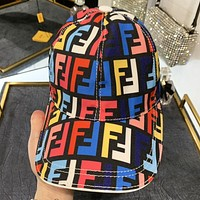 Fendi New fashion multicolor more letter couple cap hat