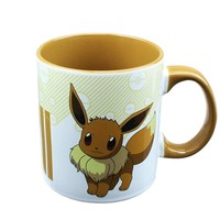 16oz Pokemon Go! OFFICIAL Eevee Pokedex Entry Cute Ceramic PREMIUM Coffee Mug GIFT