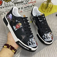 D&G2021 Men Fashion Boots fashionable Casual leather Breathable Sneakers Running Shoes06270gh